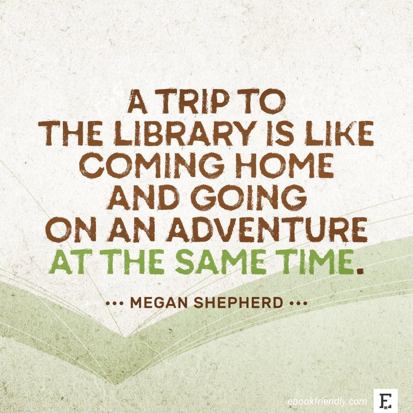 Megan Shepherd - best quotes on the importance of libraries