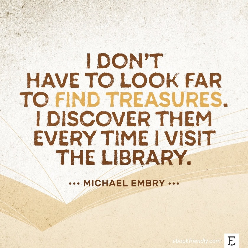 Michael Embry - best quotes on the importance of libraries
