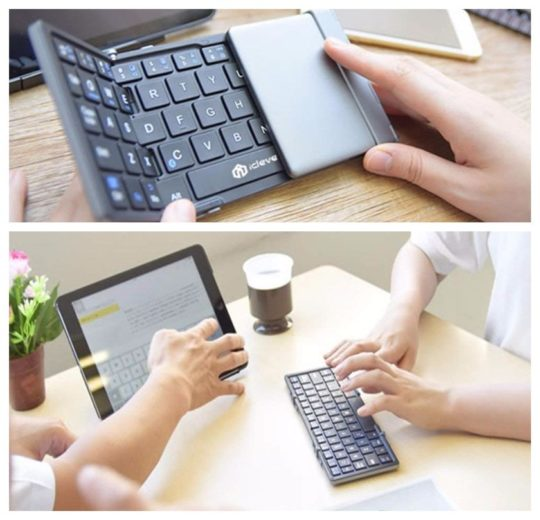 Most popular foldable Bluetooth keyboard for iPad on Amazon