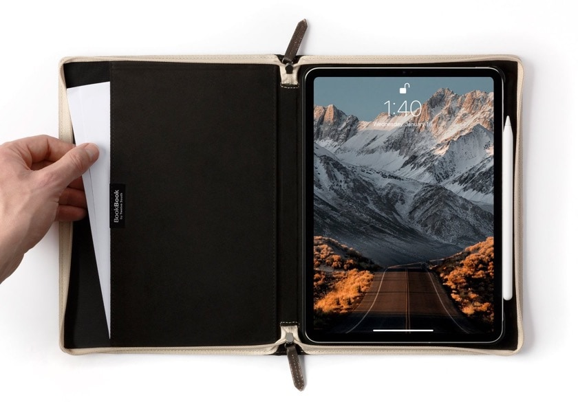 Multi-functional Twelve South Book Book V2 iPad Pro stand case