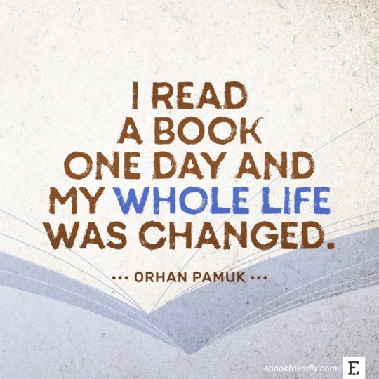 Orhan Pamuk - best quotes on the importance of books