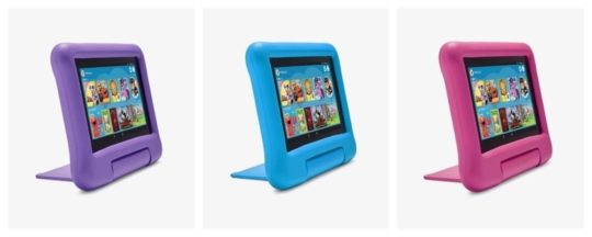 Original Amazon Fire 7 kid-proof case available in multiple colors
