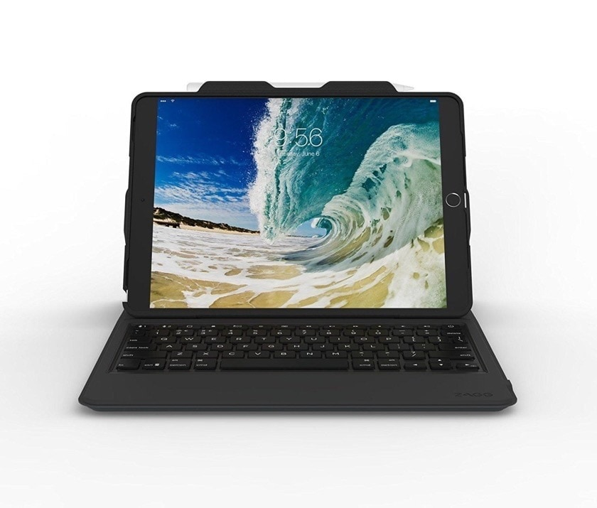 Rugged messenger iPad Air 3 2019 keyboard case