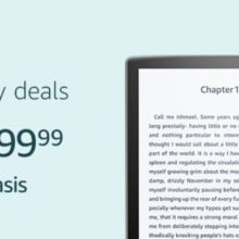 Save $50 on Amazon Kindle Oasis for Father's Day 2019