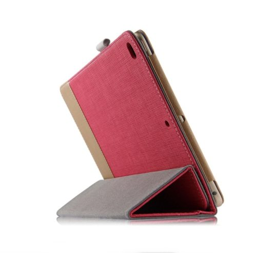 Stylish dual-color iPad 9.7 stand case cover