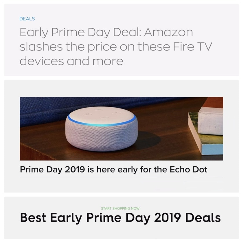 There is no such thing as early Prime Day deals