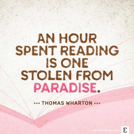 Thomas Wharton - best quotes on the importance of books