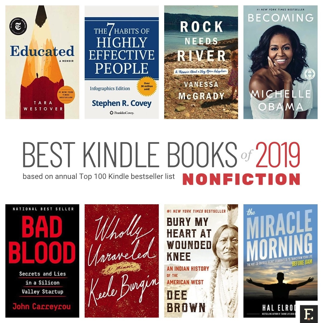 Top best Kindle books of 2019 in nonfiction