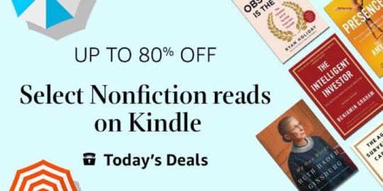 Top nonfiction books - Kindle Deal for Father's Day 2019