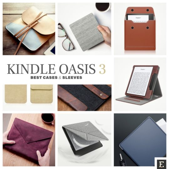 Here are 10 top-rated Kindle Oasis 3 (2019) case covers and