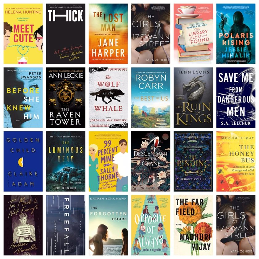 Top reads from Goodreads on sale for Kindle - June 2019