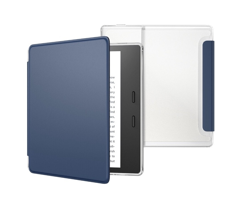 Translucent frosted back Kindle Oasis 3 case