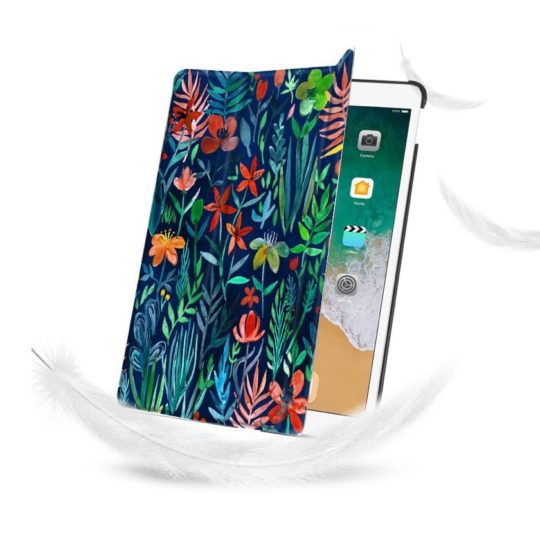 Tri-fold beautiful floral lightweight case Apple iPad Air 3 2019