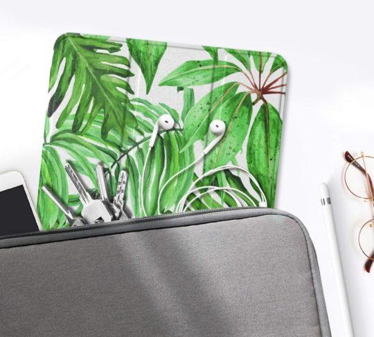 Tri-fold iPad mini case for artists