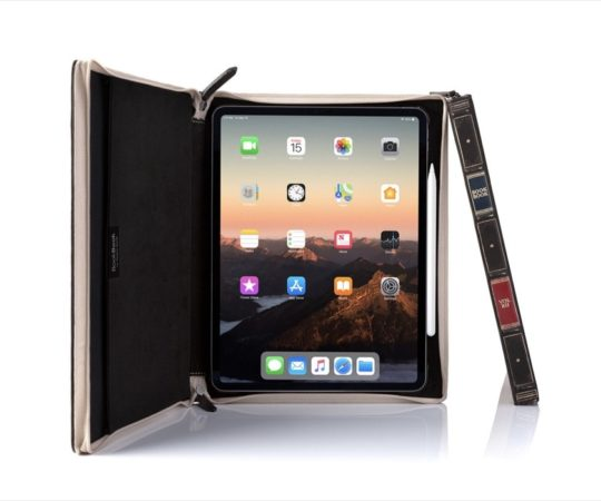Twelve South BookBook Vol. 2 for iPad Pro is available on Amazon