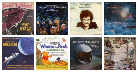 Audiobooks on vinyl records