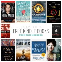Best 10 free Kindle books for Prime members - July 2019 list