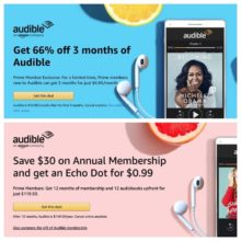 The best Prime Day Audible deals in one place – membership and audiobooks