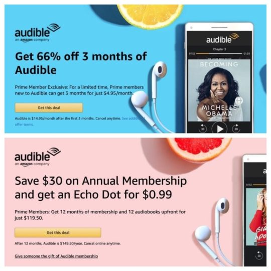 The best Prime Day Audible deals in one place – membership