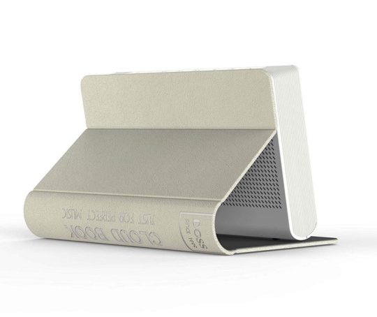 Bluetooth speaker that looks like a book