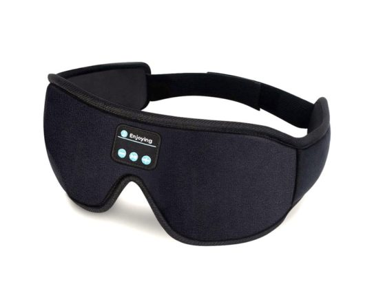 Bluetooth sleep phones and eye mask