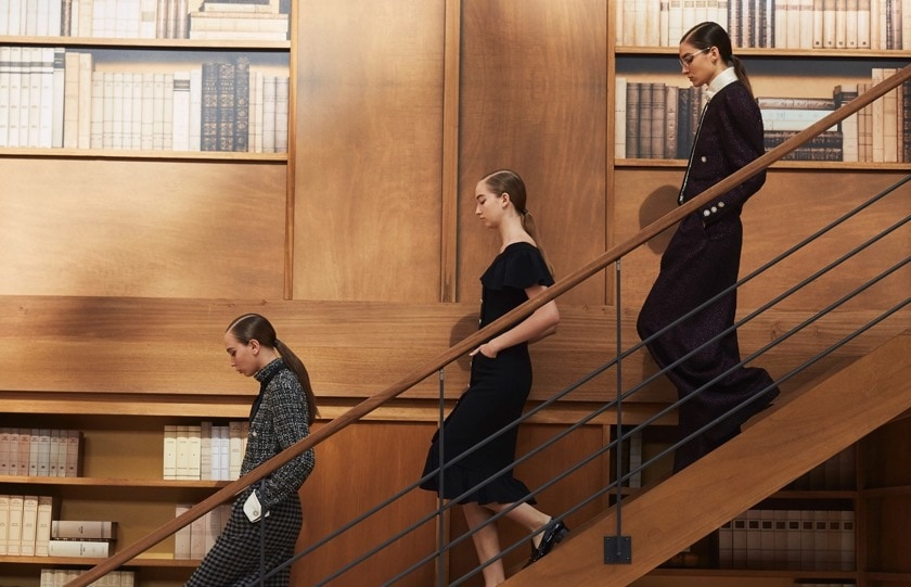 Chanel library collection autumn 2019