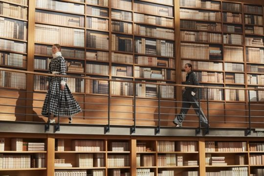 Chanel library-themed collection autumn 2019