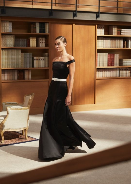 Chanel library-themed couture collection 2019