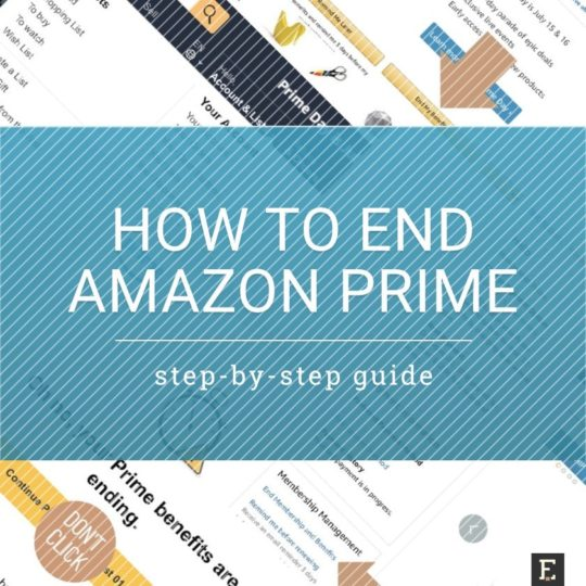 How to end Amazon Prime membership successfully