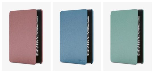 Kindle Paperwhite leather covers in new colors