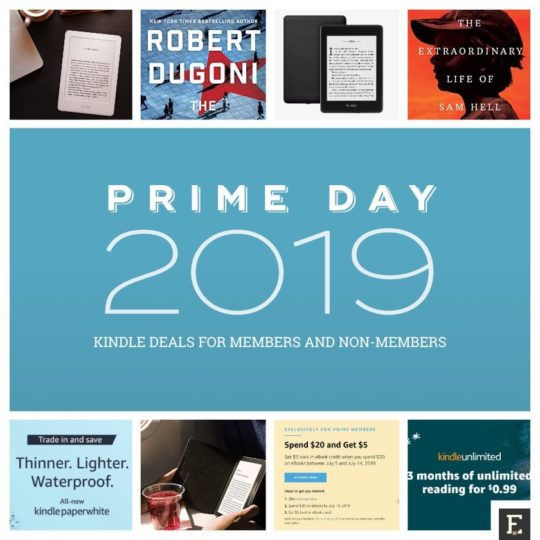 Prime Day 2019 Kindle deals for members and non-members