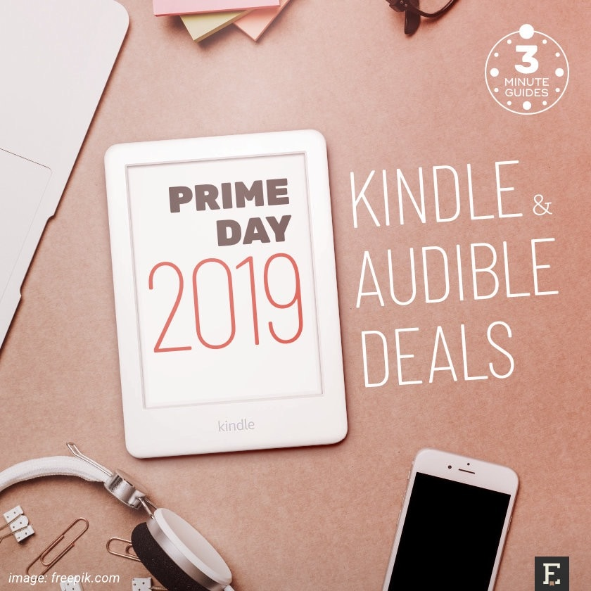 Prime Day 2019 - best Kindle and Audible deals