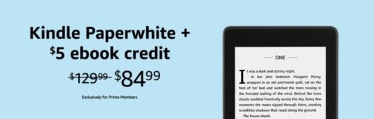 Prime Day 2019 deals - Kindle Paperwhite