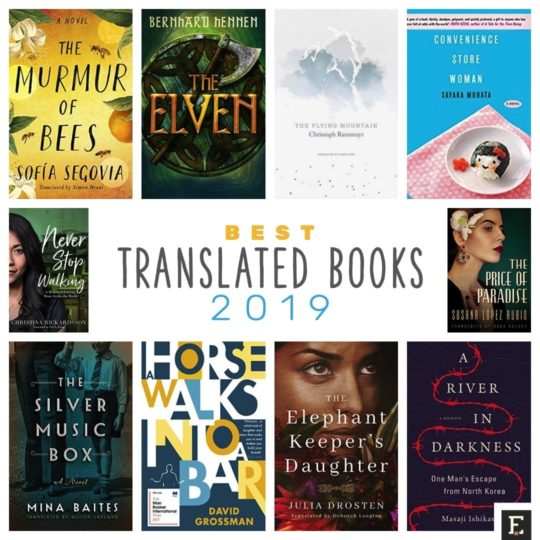 Best translated books - 2019 list