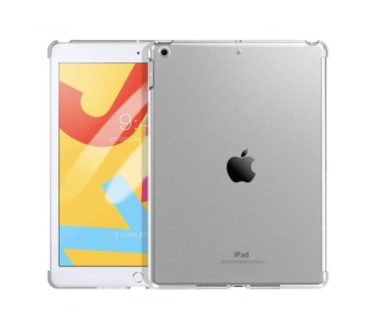 Clear iPad 10.2 case compatible with Smart Cover