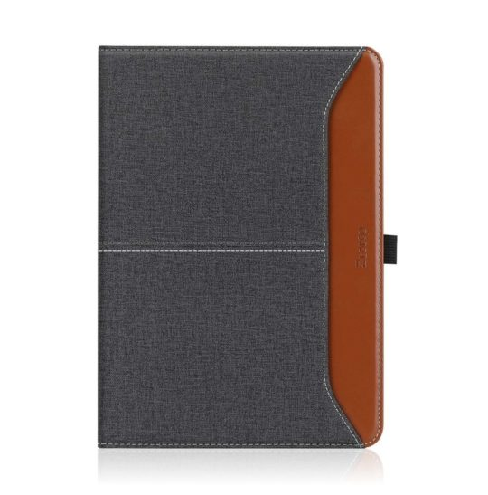 Premium faux leather iPad 10.2 folio stand