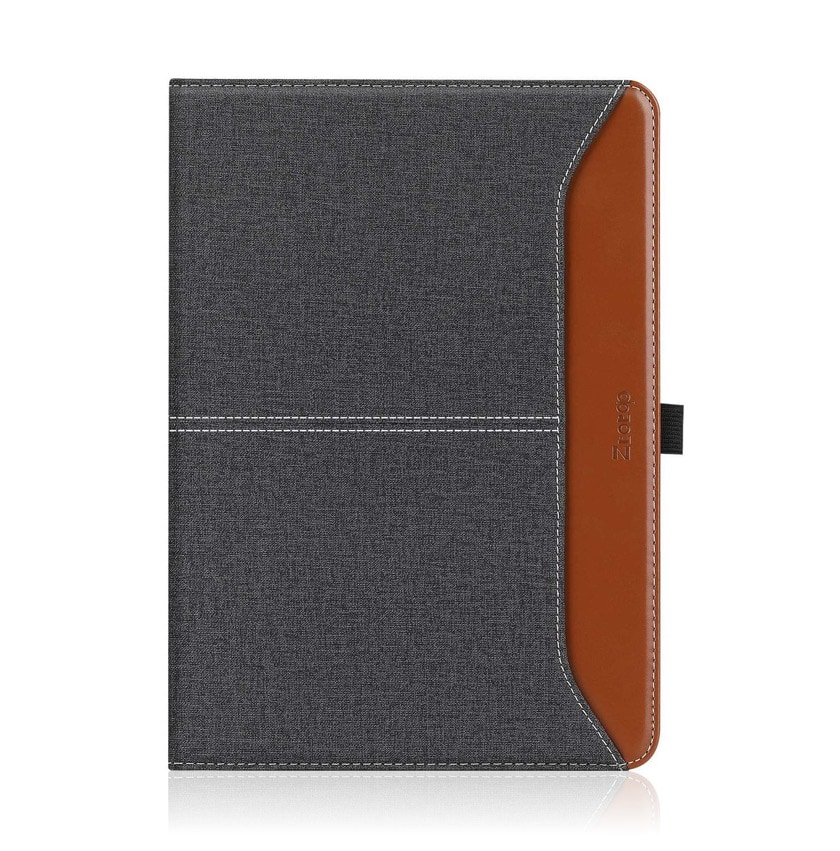 Premium faux leather iPad 10.2 folio stand