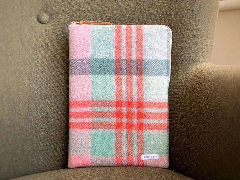 Pure wool Abraham Moon tweed sleeve for iPad 10.2