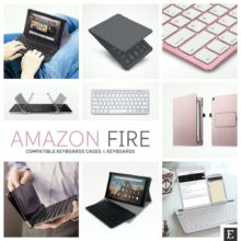 Amazon Fire tablets - top keyboard cases and keyboards