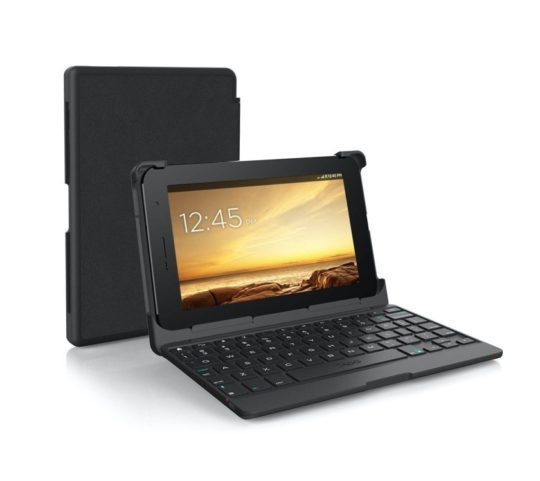Autofit keyboard case for 7-inch tablets