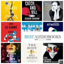 These 12 brilliant audiobooks are worth gifting this year