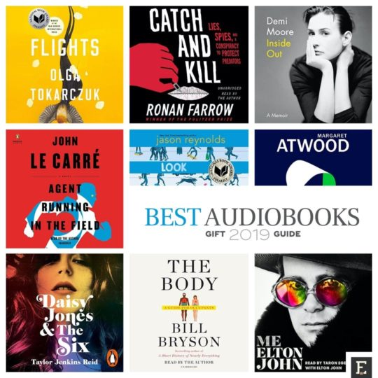 Best audiobooks of 2019 - gift guide