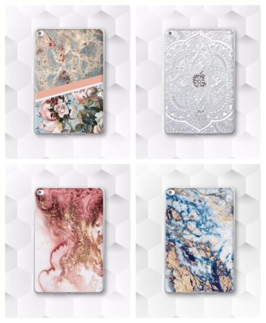Designer backshell cases for iPad Air 3 2019 release