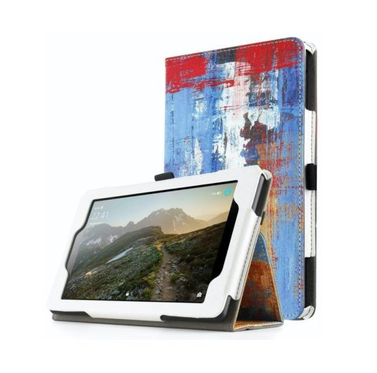 Designer folio stand case for Fire 7 tablet