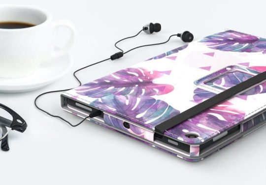 Floral Amazon Kindle Fire tablet 10-inch folio case