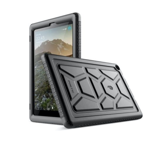 Heavy-duty Kindle Fire HD 10 (2019) case cover