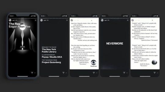 Instagram novels - The Raven