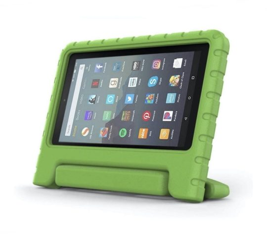 Kid-friendly third-party Amazon Fire 7 convertible case