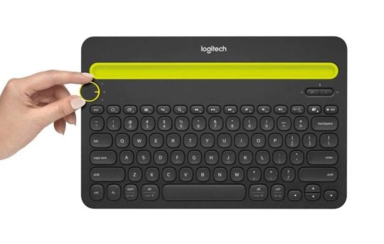 Logitech Bluetooth keyboard with Easy-Switch feature