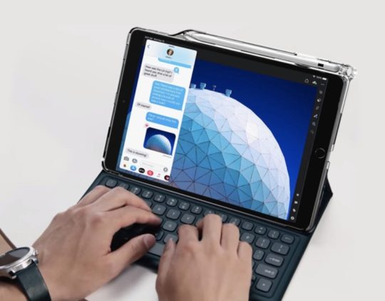 Poetic Lumos case for iPad Air 3 supports Smart Keyboard